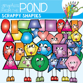 2D Shapes Clipart - Scrappy Shapies