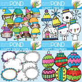 Scrappy Snow Super Saver Set {Clipart}