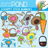 Scrappy Stick Bunnies