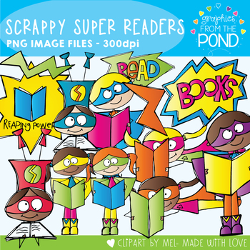 Scrappy Super Readers