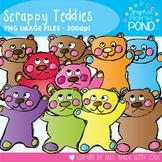 Teddy Bear Clipart - Scrappy Teddies
