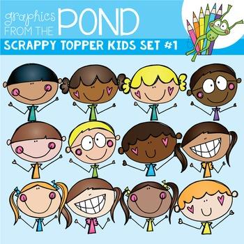 Scrappy Topper Kids