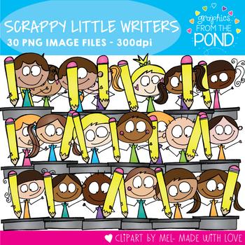 Scrappy Writing Kids