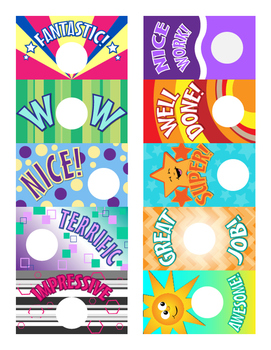 Scratch Off Teachers Rewards - Classroom Award DIY *Labels NOT Included