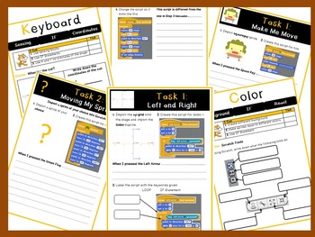 Grades 1-4: Scratch v1.4 Programming Work Book (ISTE 2016 Aligned)