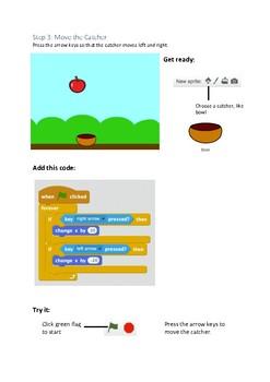 Scratch 2.0 - Catch Game