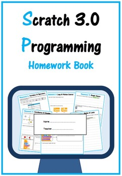 Scratch 2.0 Programming Homework Book (Updated 2018)