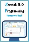 Scratch Coding Programming - Homework Book (Scratch 3.0) Lifetime Updates