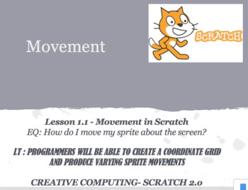 Scratch 2.0 lesson- Movement