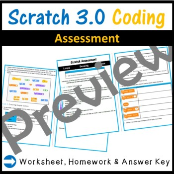 Scratch 3.0 Programming - Assessment (Updated for 2019)