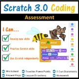 Scratch 3.0 Coding Programming Assessment Lesson
