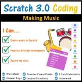 Scratch Coding Programming - Making Music (Scratch 3.0)