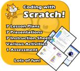 Scratch 3.2 Programming Coding - Fun unit - EDITABLE -  Plans, PPTs, Activities