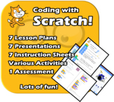 Scratch - A Fun and complete unit - EDITABLE - Planning, P