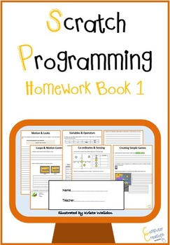 Scratch Programming Coding – Homework Book 1