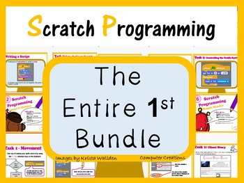 Scratch Coding Programming - The Entire First Lesson Plans Bundle