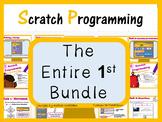 Computer Coding with Scratch 1.4 Lesson Plans Bundle