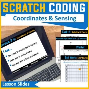 Scratch Programming - Lesson 3 Coordinates & Sensing