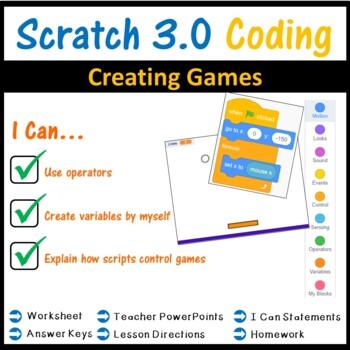 Scratch Programming - Creating Scratch Games