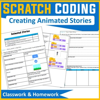Scratch Programming - Lesson 6 Creating Scratch Stories