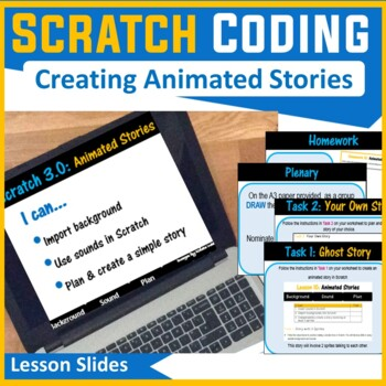 Scratch Programming - Creating Scratch Stories