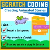 Scratch Coding Programming - Creating Scratch Stories (Scratch 3.0)