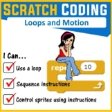 Scratch Coding Programming - Loops & Motion Commands (Scratch 3.0)