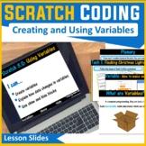 Scratch Coding Programming - Variables & Operators (Scratch 3.0)