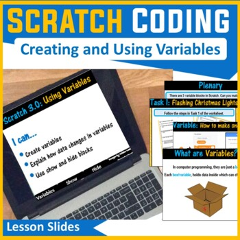 Scratch Programming - Lesson 4 Variables & Operators