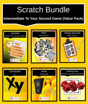 Scratch Bundle: Intermediate To Your Second Game (Value Pack)