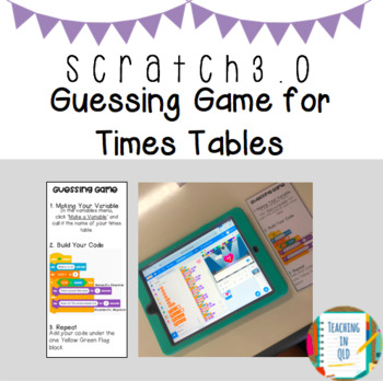 Scratch Challenge- Guessing Game X Tables