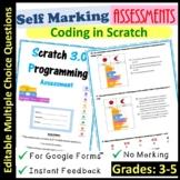 Scratch Coding Assessment Self Marking (Grades 3-5)