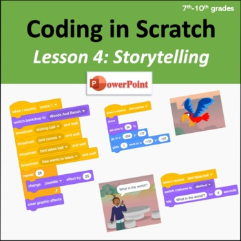 Scratch Coding Lesson 4: Storytelling
