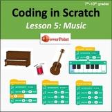 Scratch Coding Lesson 5: Music