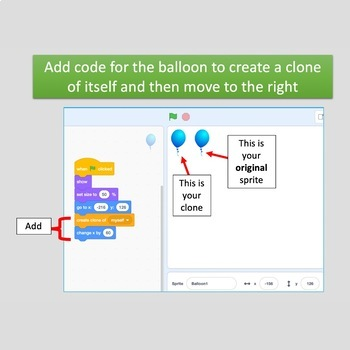Scratch Coding Lesson 8: Cloning