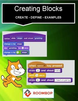 Scratch: Creating Blocks (Advanced #6)