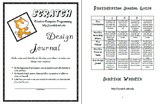 Scratch Creative Computer Programming & Coding Design Journal