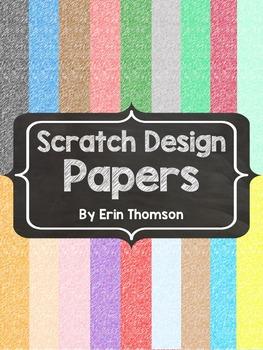 Scratch Design Papers