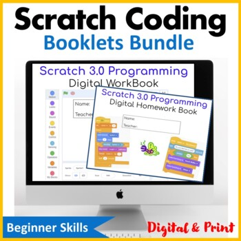 Scratch 2.0 Booklets Bundle (Updated 2018) - Save $4