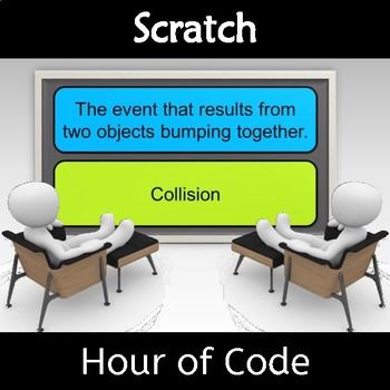 Scratch Hour of Code Vocabulary Word Game