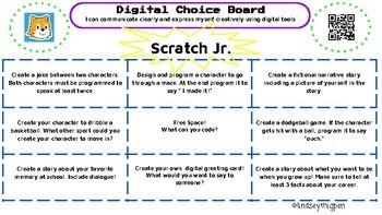 Digital Choice Board| Scratch Jr. App