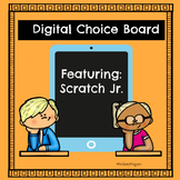 Coding| Digital Choice Board| Scratch Jr. App