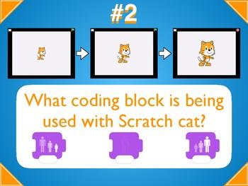 Coding: Scratch Jr Scavenger Hunt