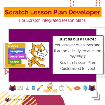 Scratch Coding & Computer Science Lesson Plan Creation