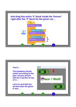 Scratch Lesson - The Racing Game Course