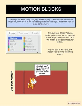 Scratch: Making Things Move (Intermediate #1)