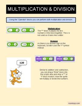 Scratch: Math (Intermediate #8)