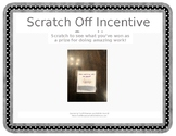Scratch Off Incentive Cards (Completely Editable!)