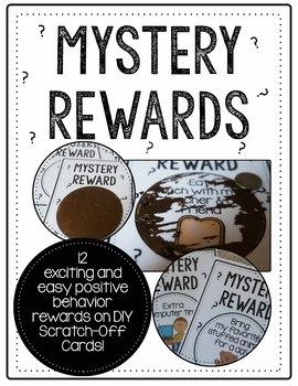 Scratch-Off Mystery Reward Cards