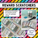 Scratch-Off Reward Cards (Editable)